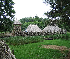 crannog in Ireland