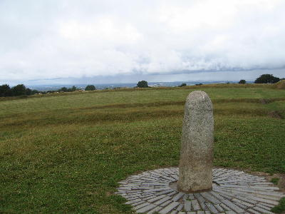 The Lia Fail stone at Tara