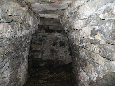 Interior of the Souterrain