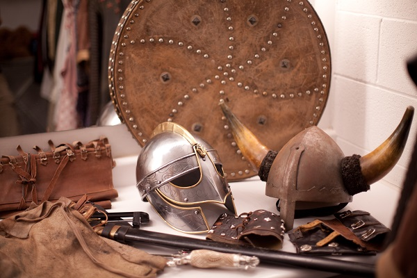 To Tempt a Viking photo shoot